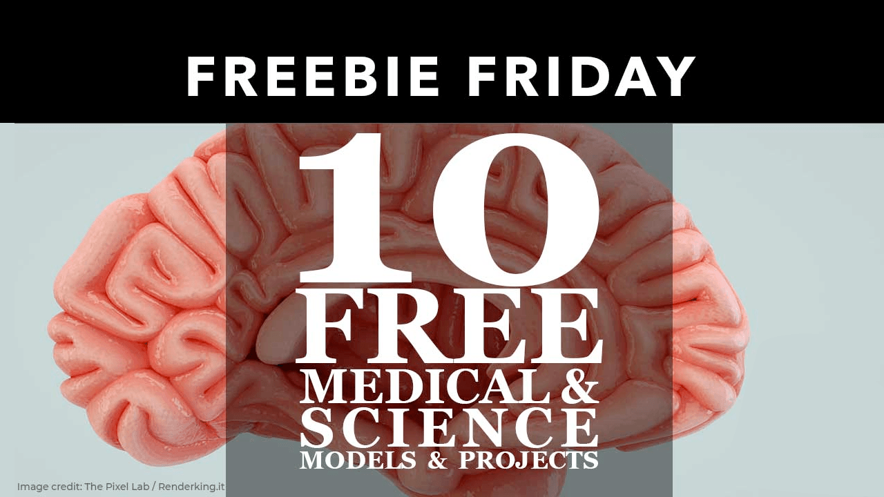 10 Free Medical and science models and project