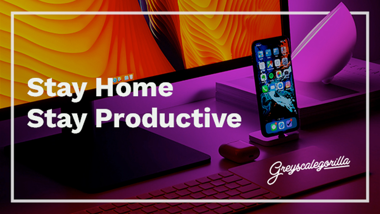 work from home tips from gsg