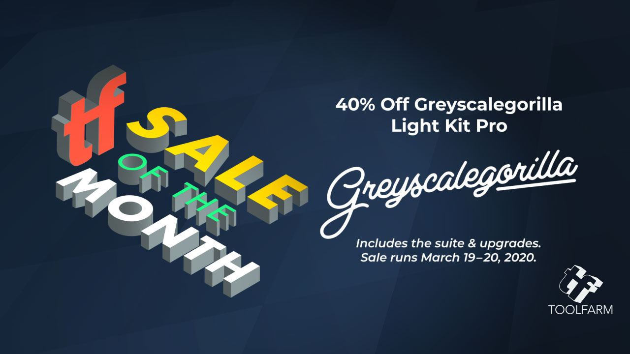 sale of the month gsg light kit pro