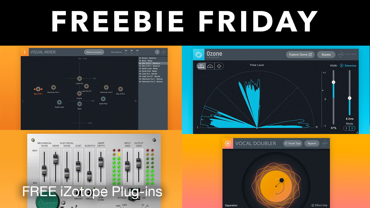 izotope freebies