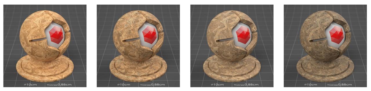 pixel lab redshift mutating materials wood