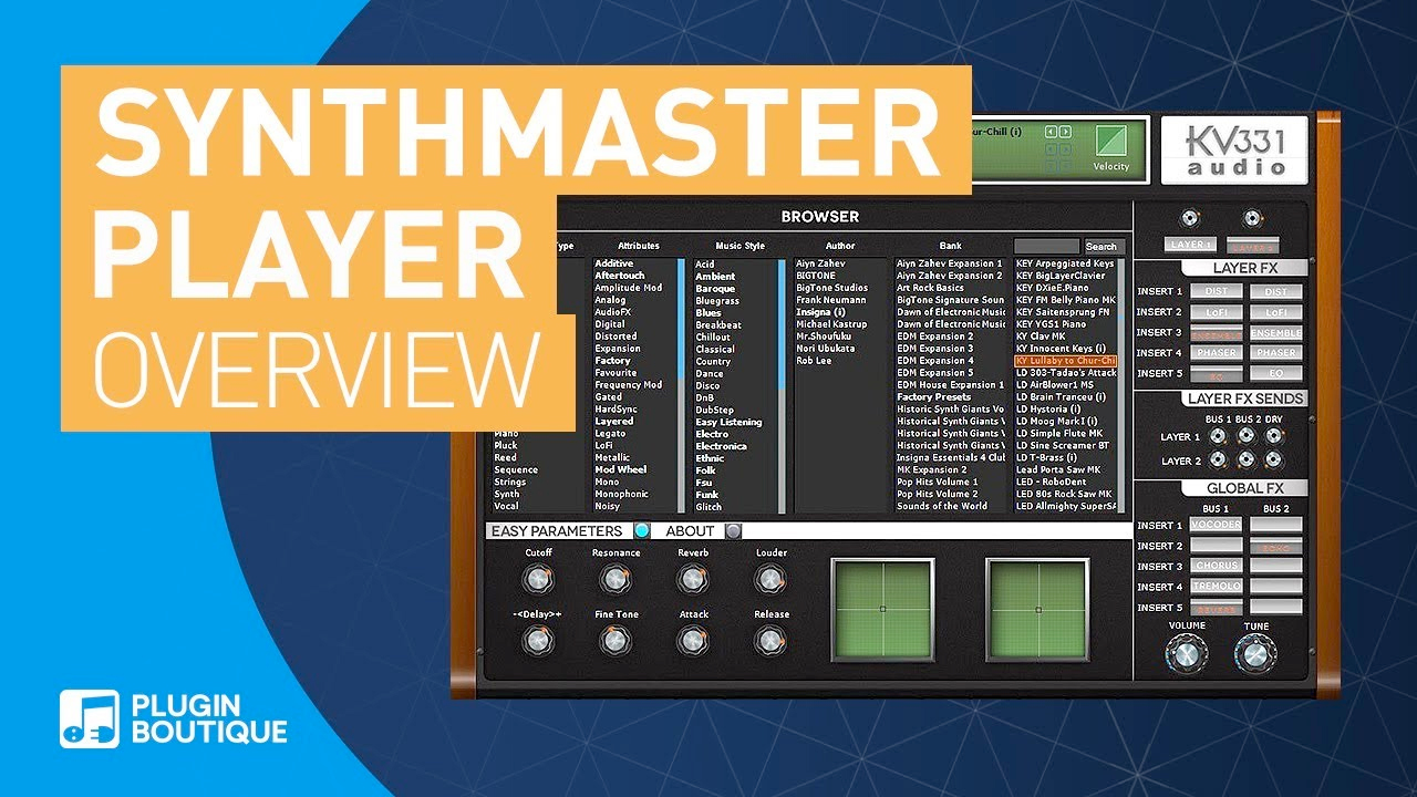 synthmaster player tutorial