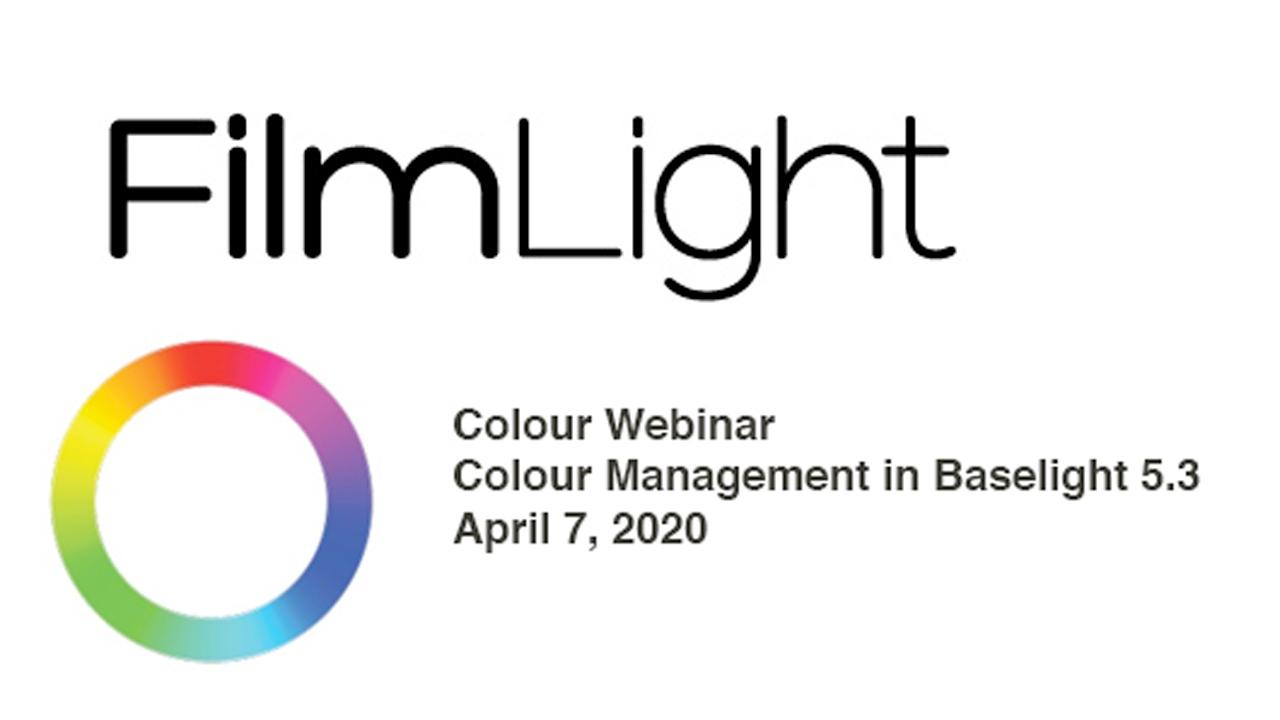 filmlight baselight webinar