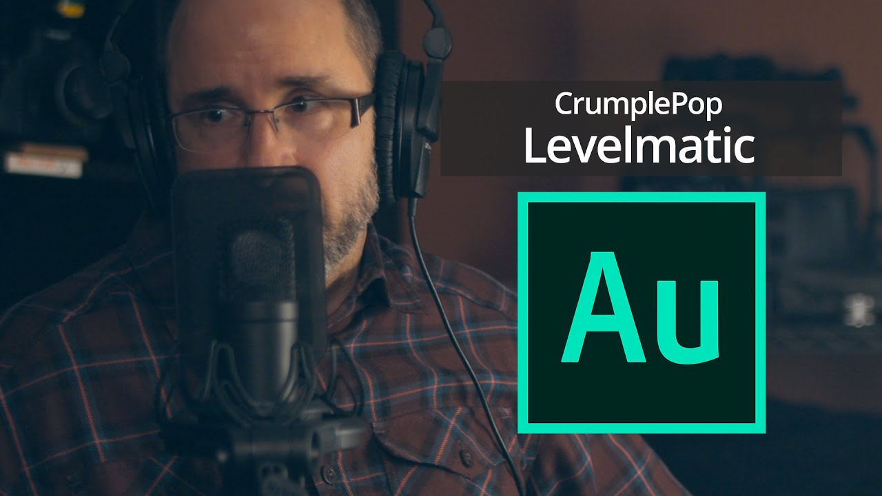 CrumplePop Levelmatic for Audition lets you dynamically adjust playback levels so that no part sounds too loud or too quiet.