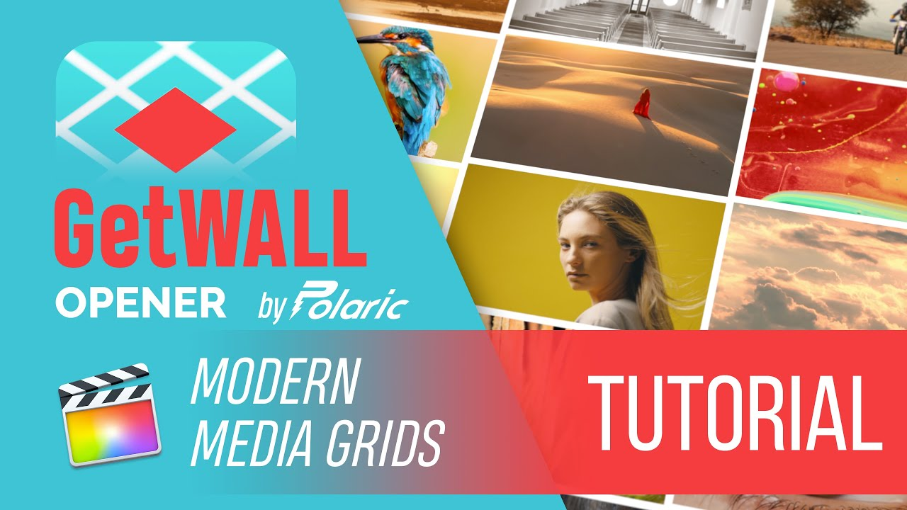 GetWALL Opener in Final Cut Pro