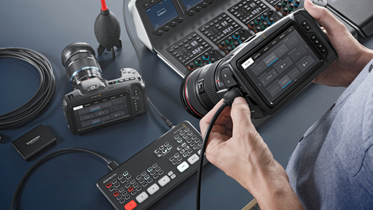 blackmagic design camera update