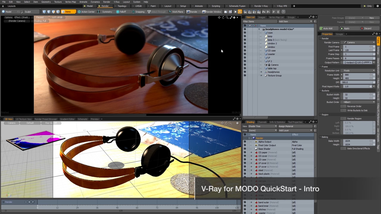 v-ray next for modo intro tutorial