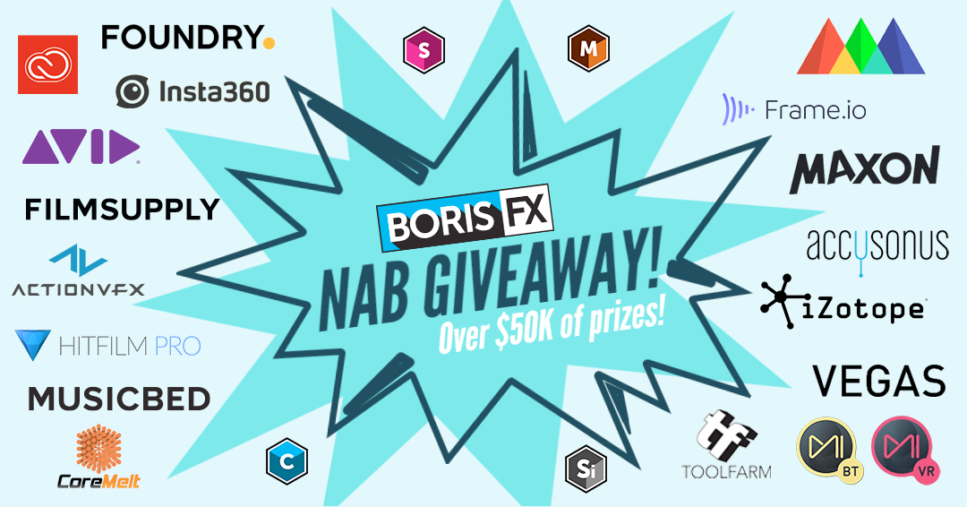 Boris NAB giveaway