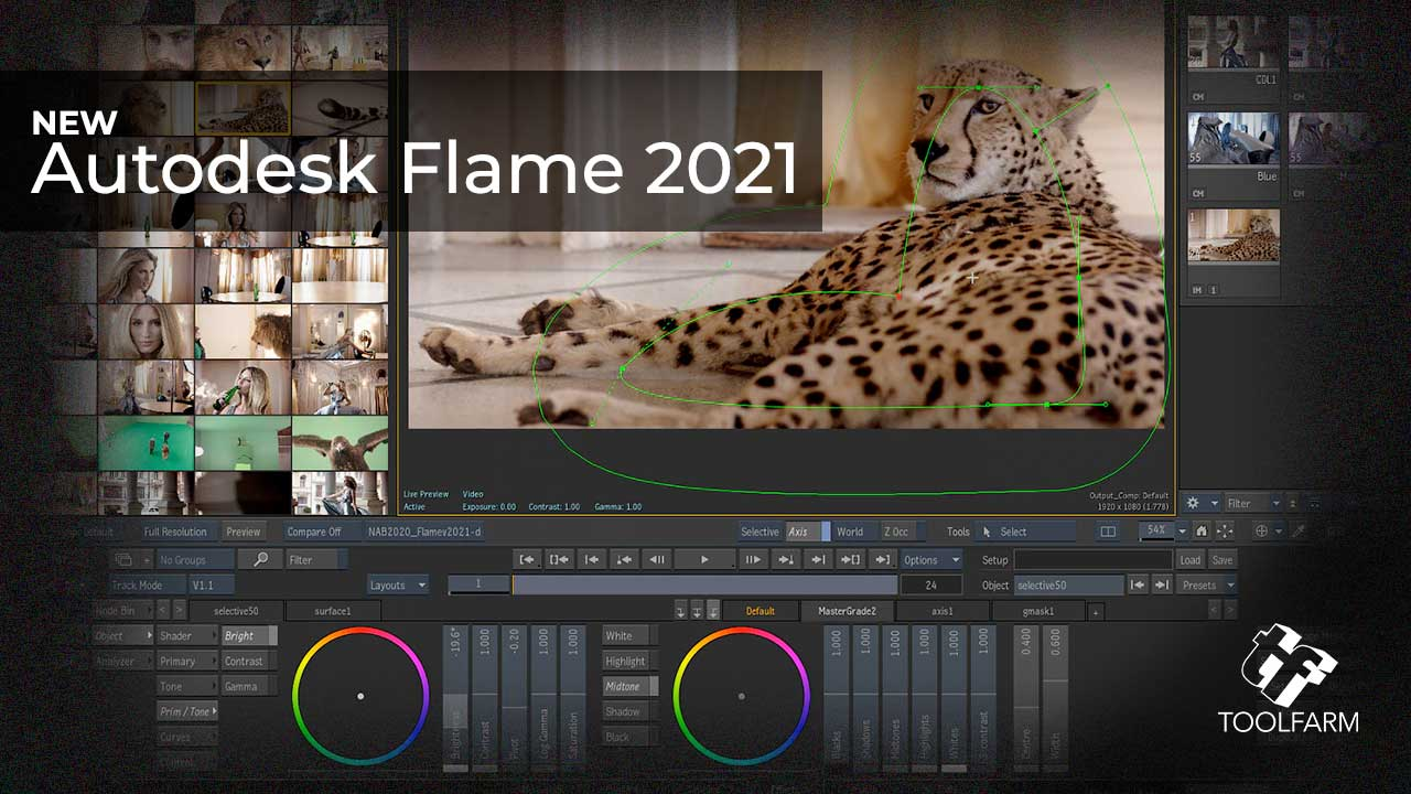 New: Autodesk Flame 2021