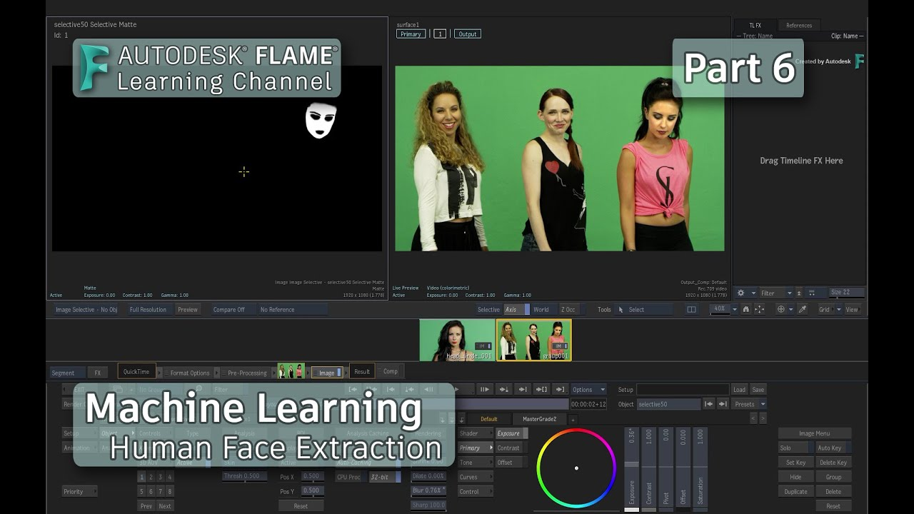 Machine Learning - P6 - Human Face Extraction - Flame 2021