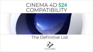 Cinema 4D S24 Compatibility