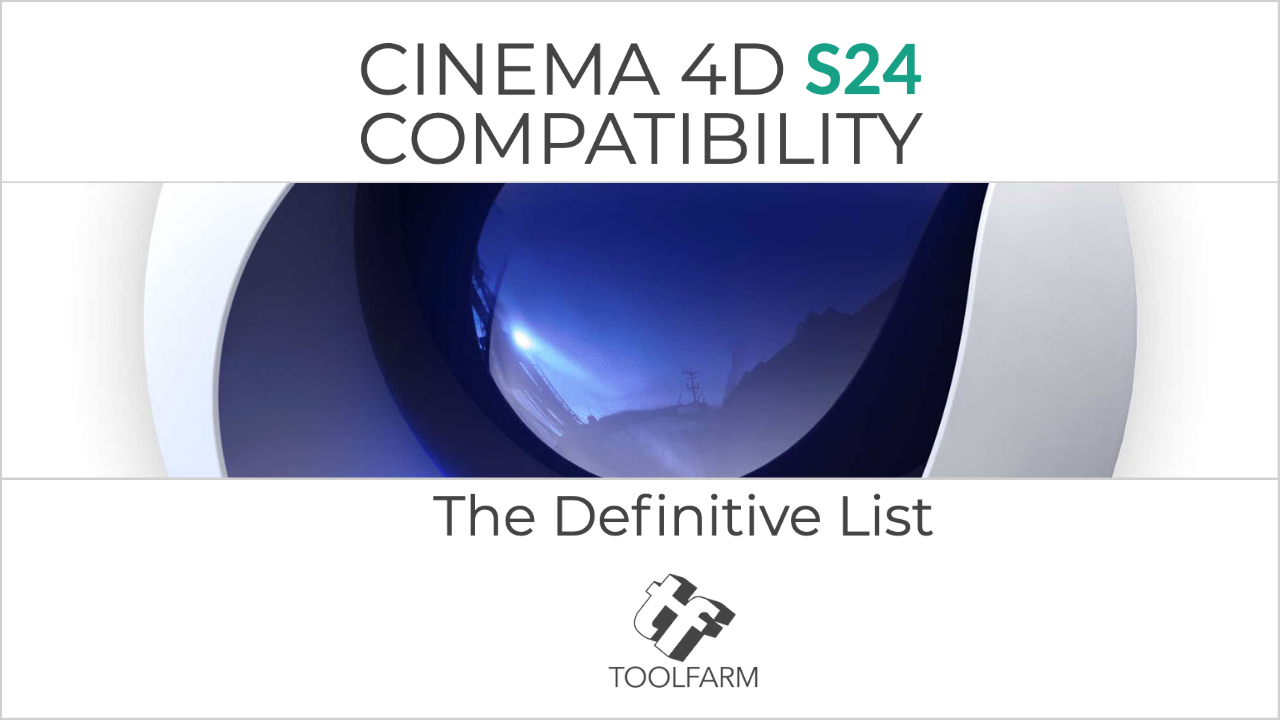 Cinema 4D R23 Compatibility