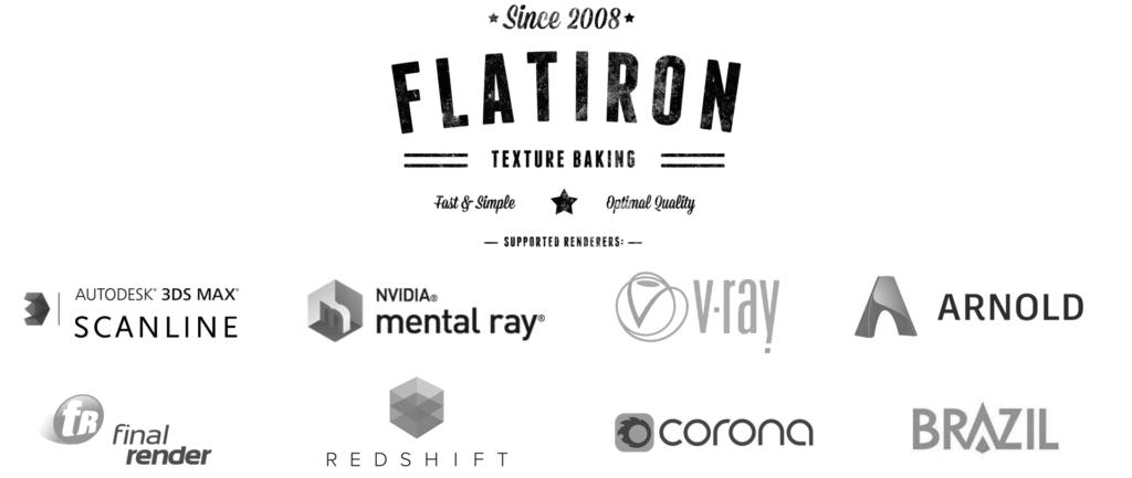 flatiron supported renderers