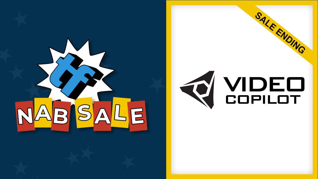 video copilot nab sale ending