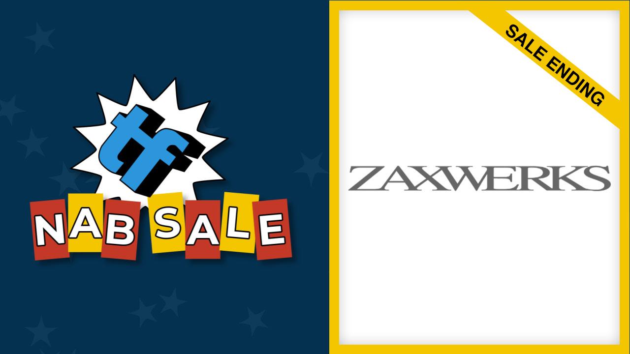 zaxwerks nab sale ending