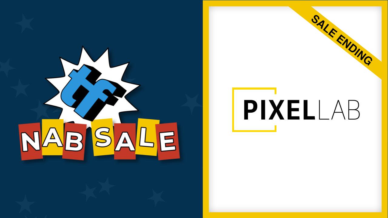 pixel lab nab sale ending