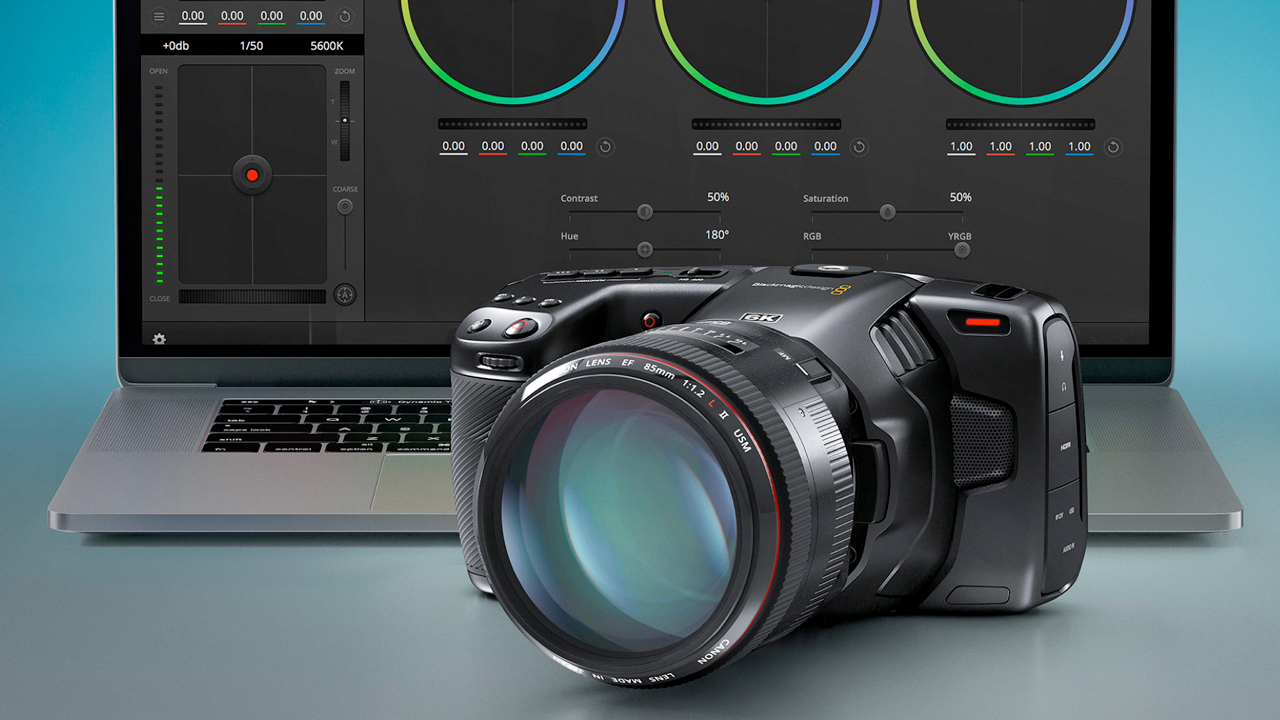 blackmagic design 6k pocket camera