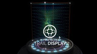 x-particles beta trail display