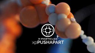 x-particles beta push apart