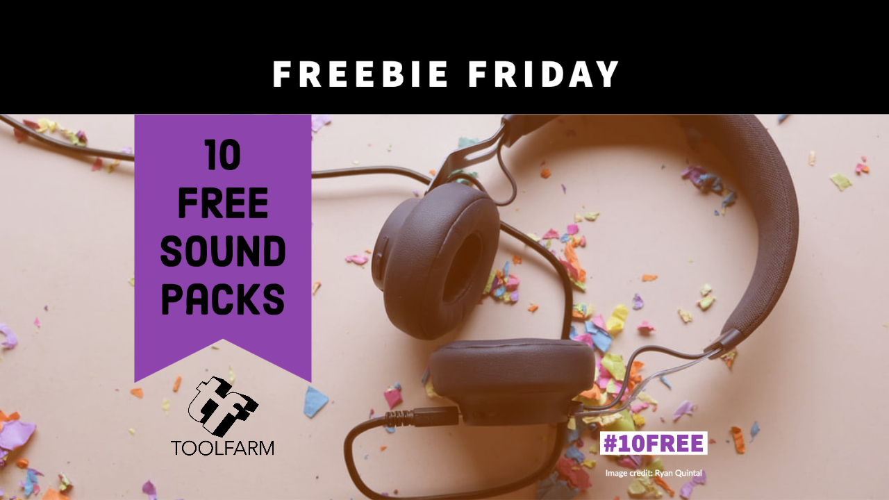 Freebie Friday 10 Free Sound Packs
