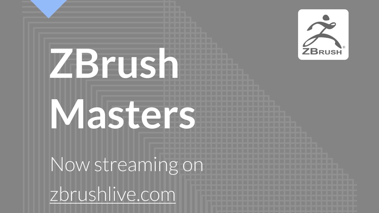 zbrush masters livestream
