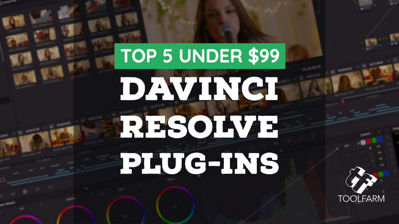 davinci resolve top 5 under $99