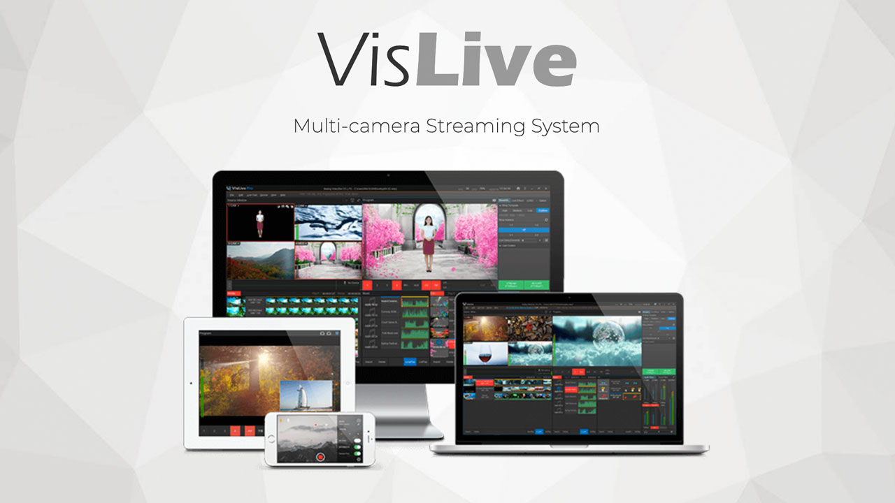VisLive Multi-camera Streaming system