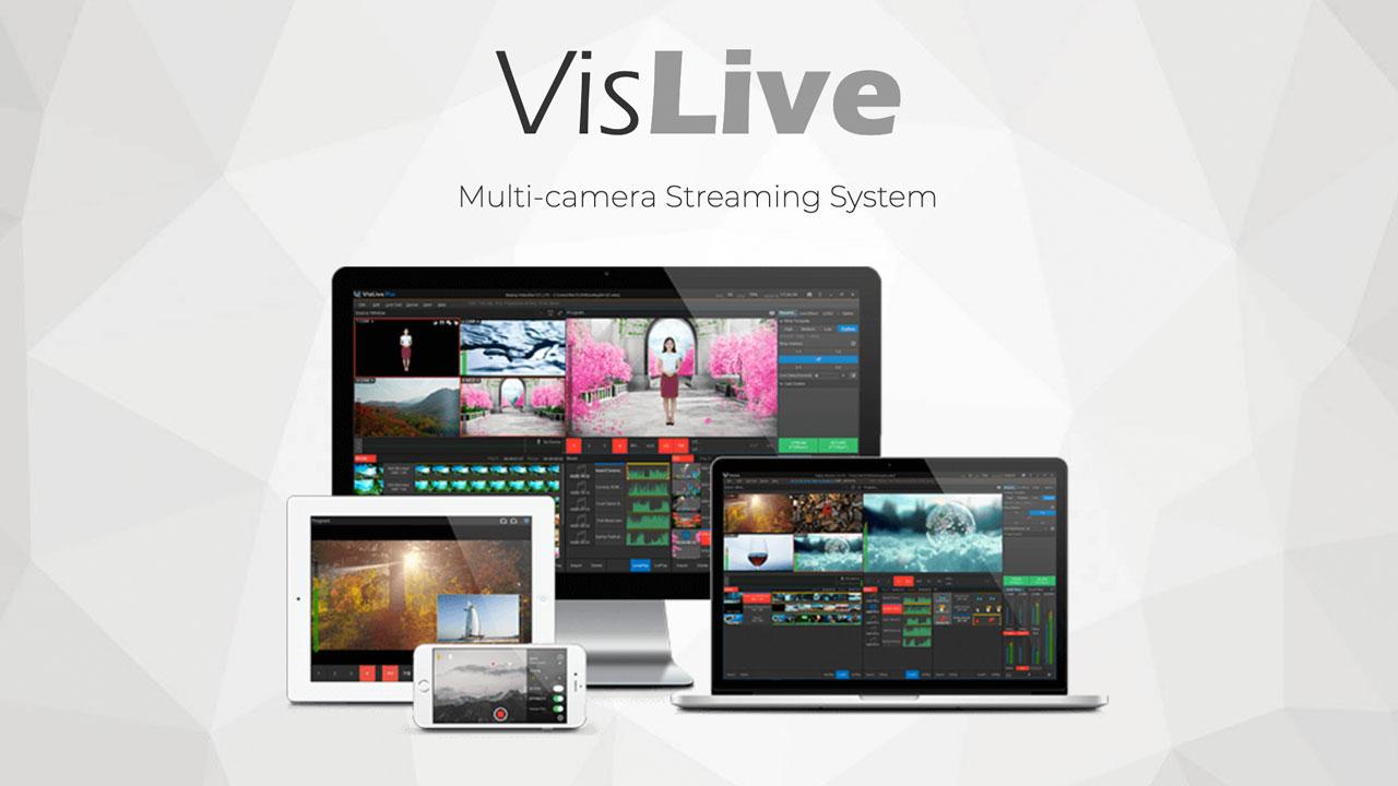 VisLive Multi-camera Streaming system