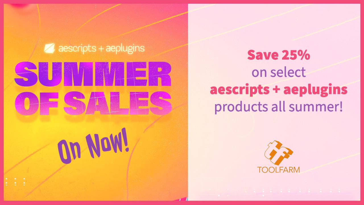 summer of sales aescripts