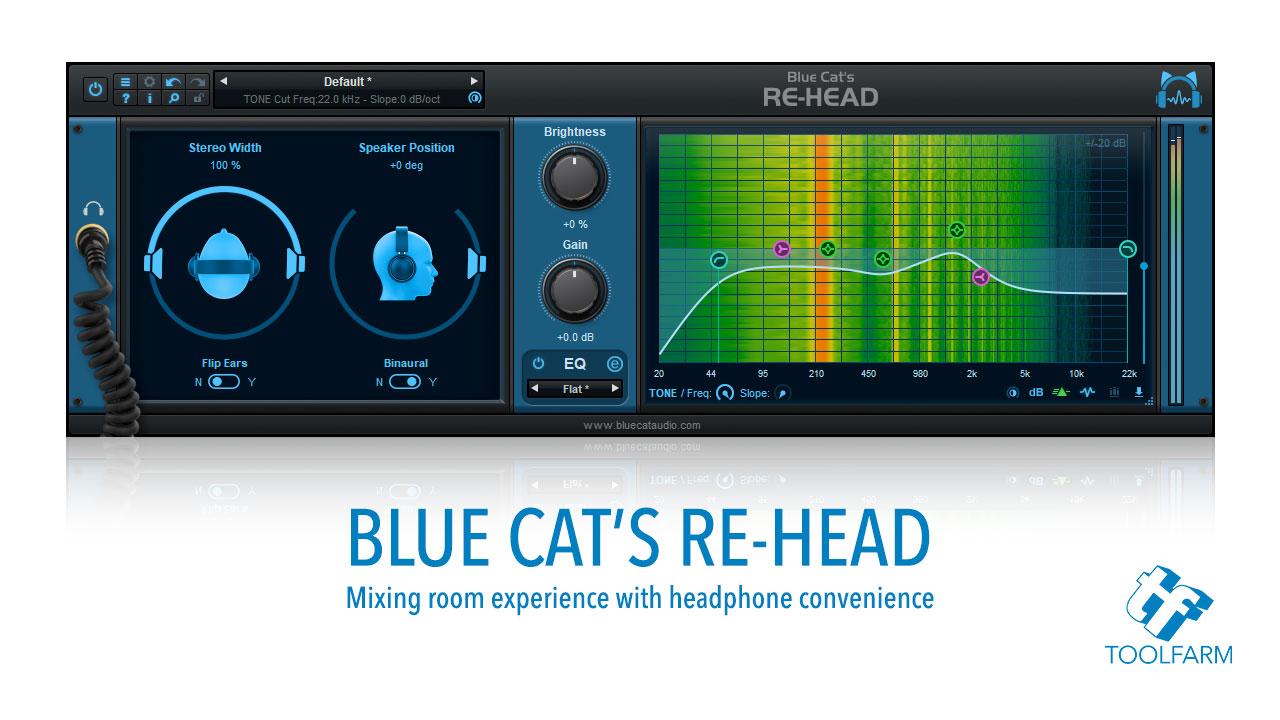 Blue Cat's Re-Head Plug-In For Headphones Released