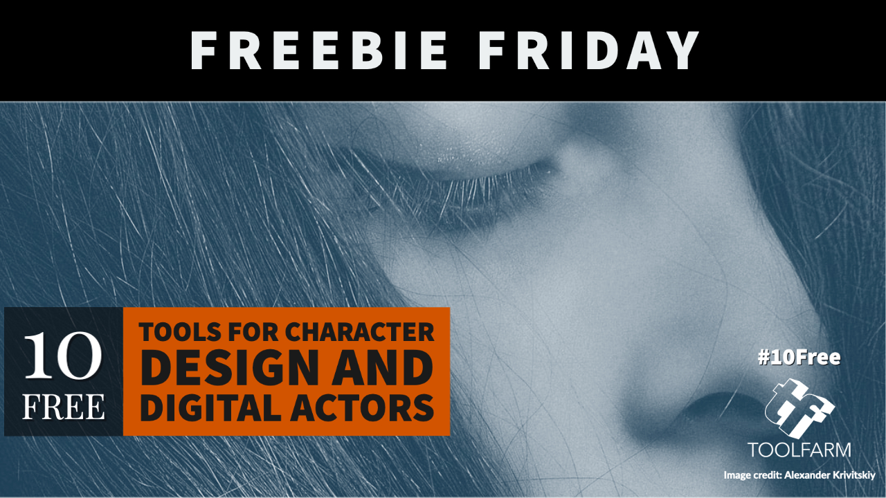 10 Free: Tools for Character Design and Digital Actors