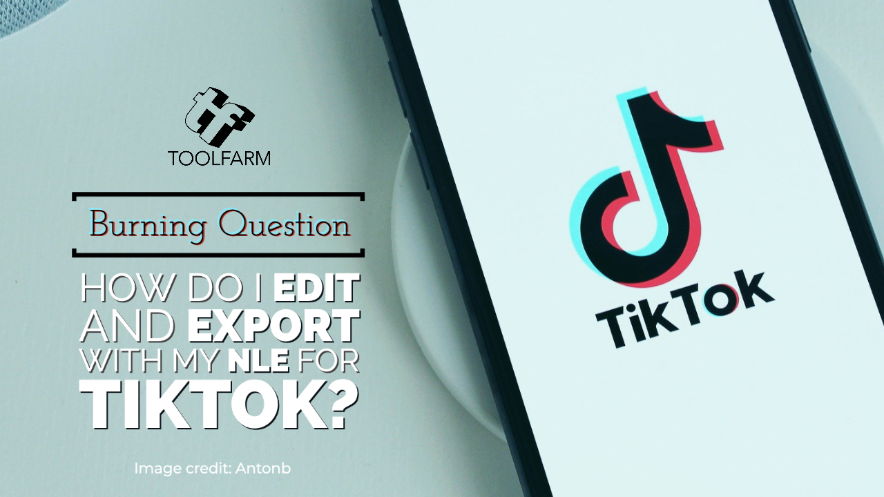Burning Question: How Do I Edit and Export with My NLE for TikTok?