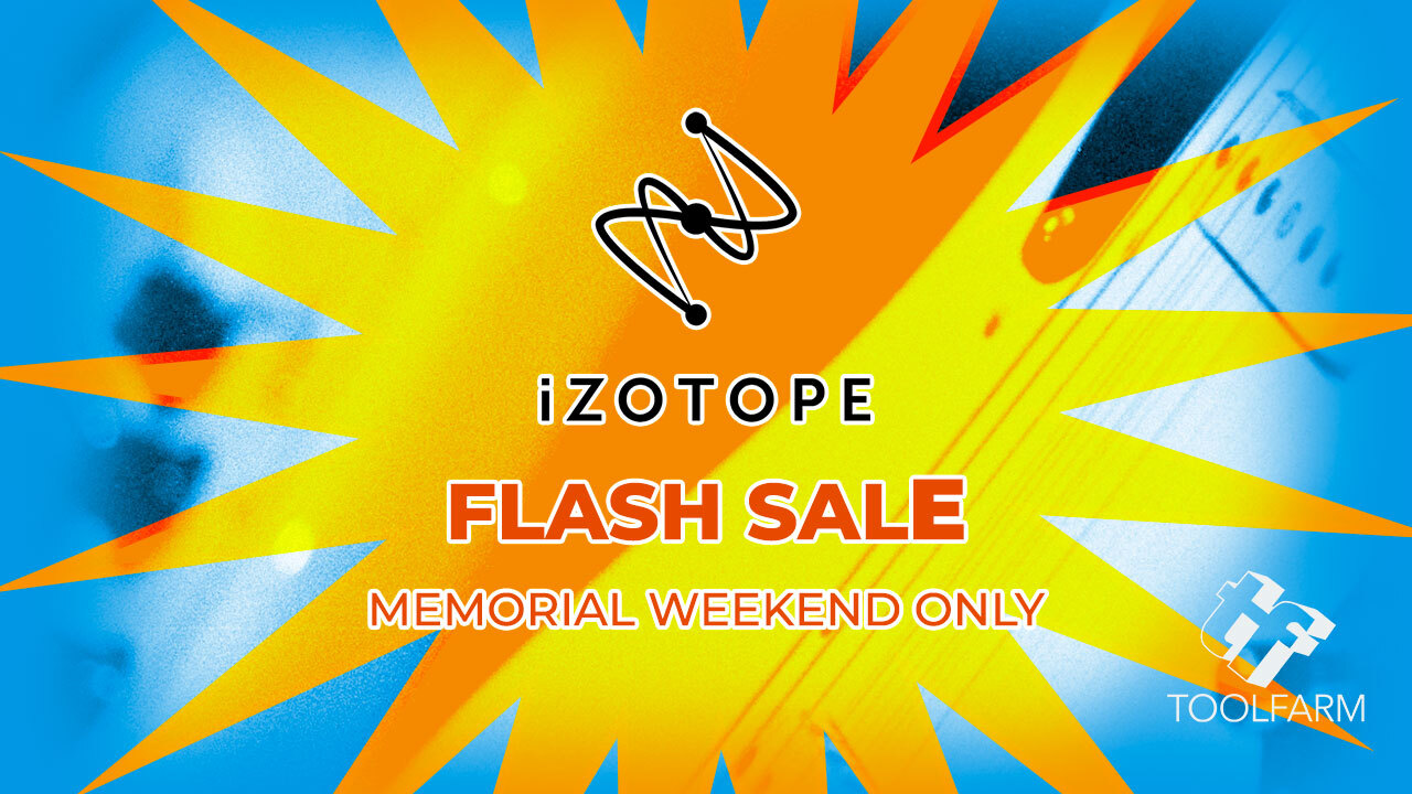 izotope memorial day sale