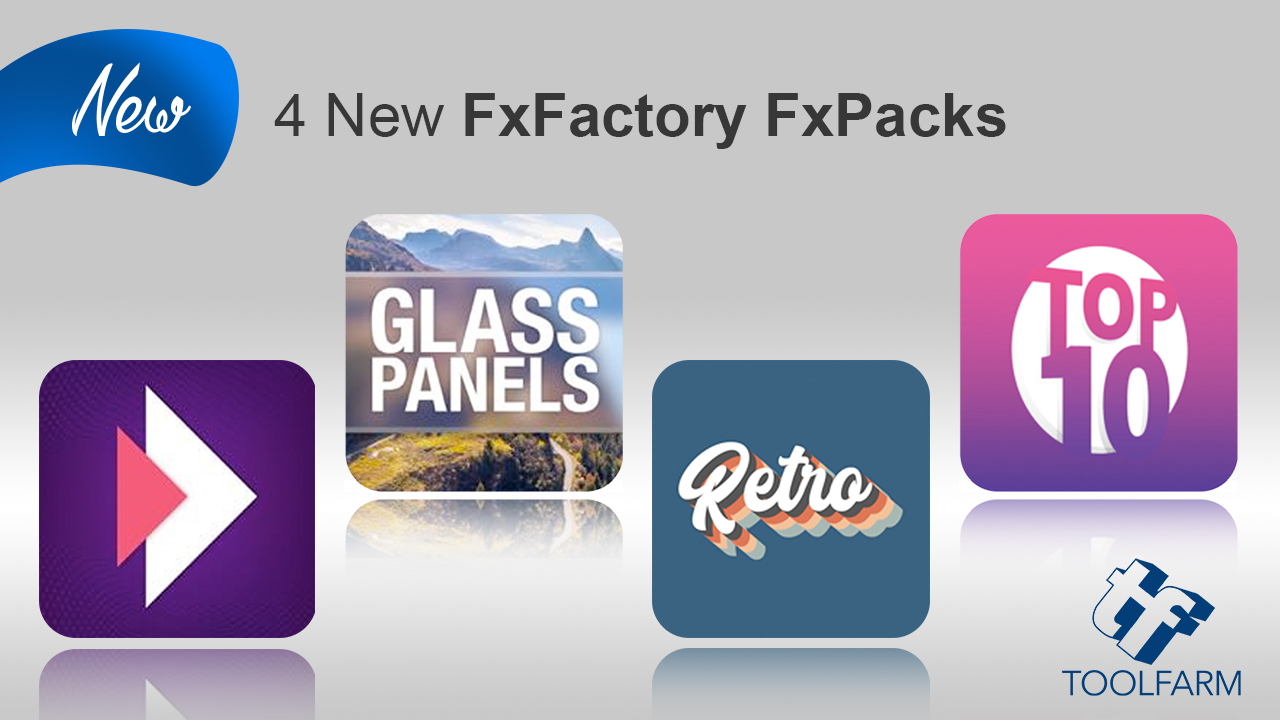 4 new fxfactory fxpacks