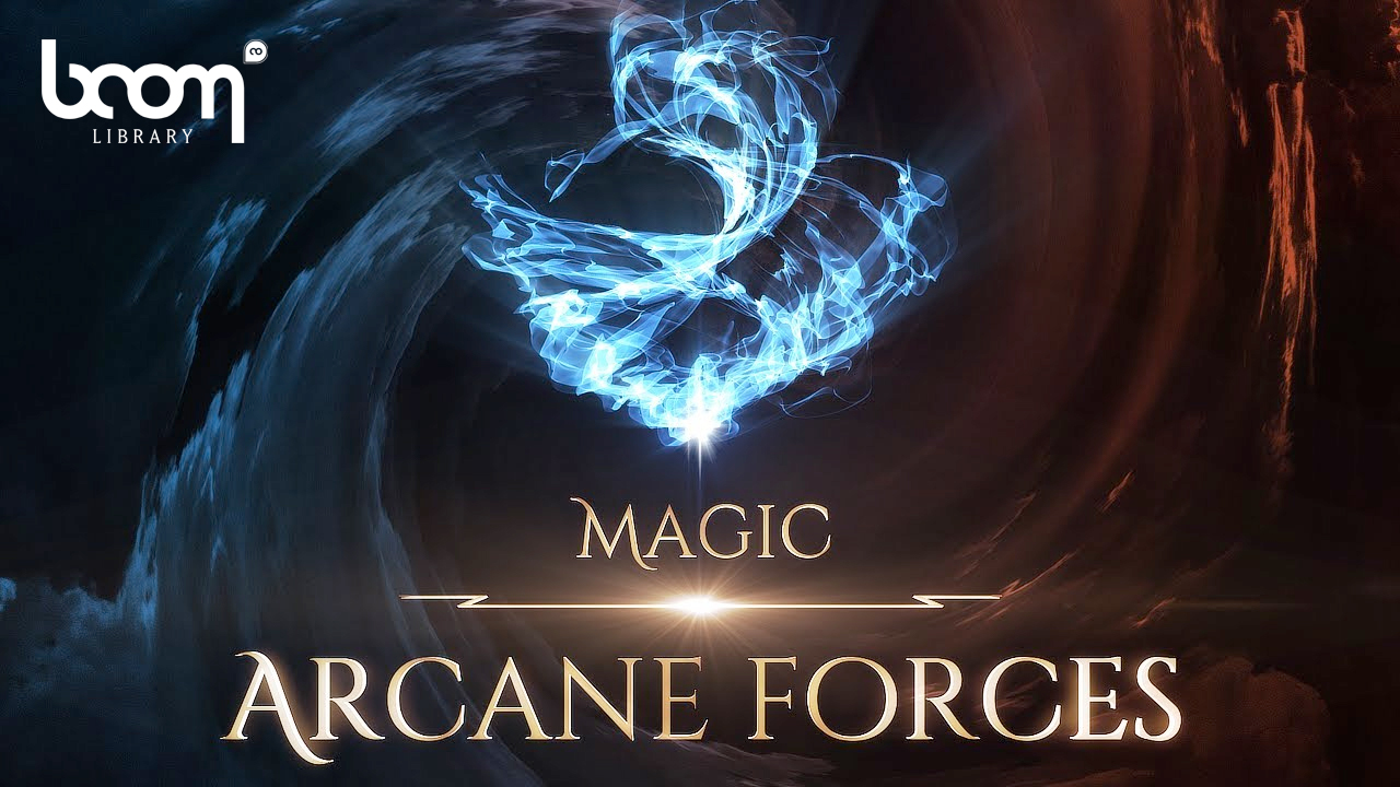 boom library magic - arcane forces