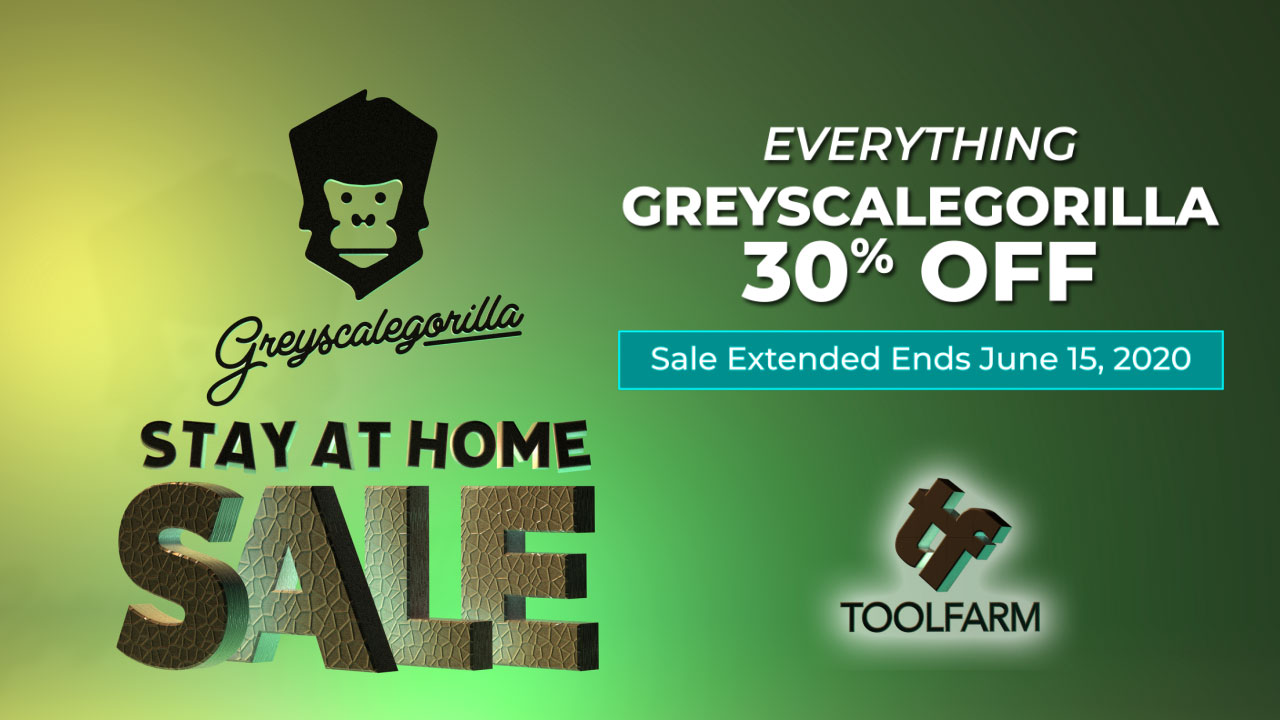Greyscalegorilla Extended Stay At Home Sale