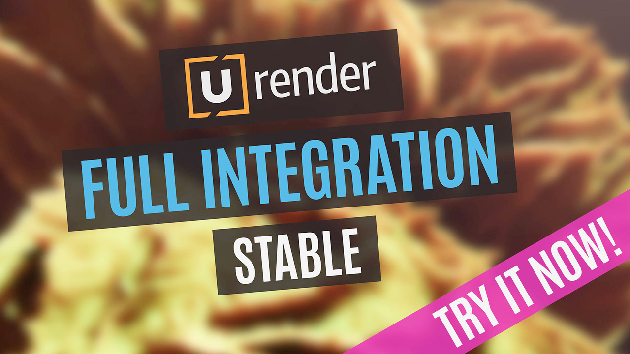 u-render full integration