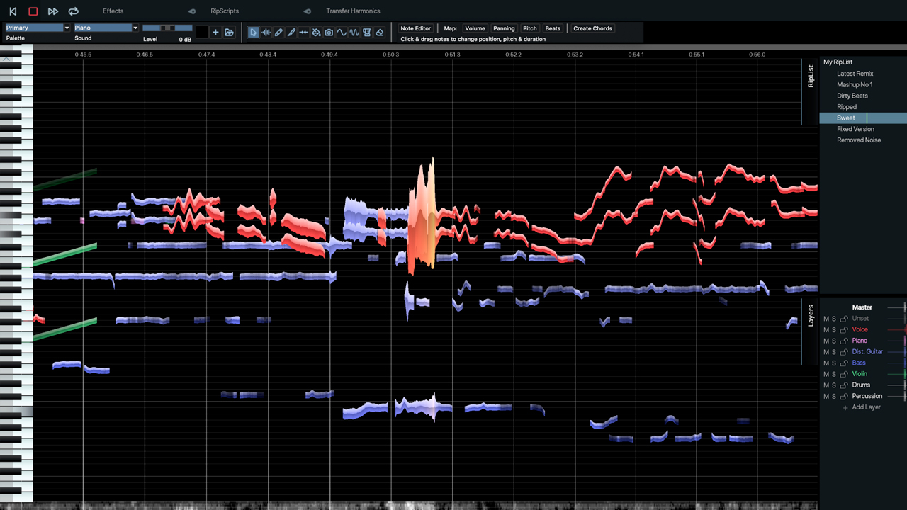 Noise Removal and clean is easy with Hit'n'Mix Infinity. Learn how to remove applause from behind a speech in this tutorial.