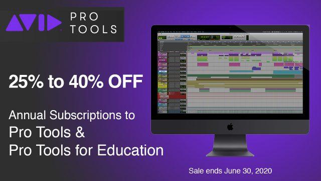 avid pro tools sale
