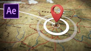 Clean 3D Animated Travel Map Tutorial in After Effects