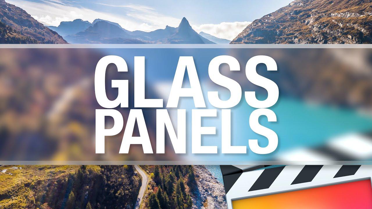 idustrial revolution glass panels tutorial
