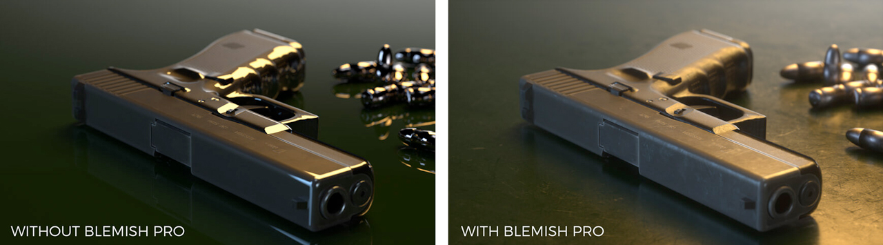 pixel lab blemish pro before and after