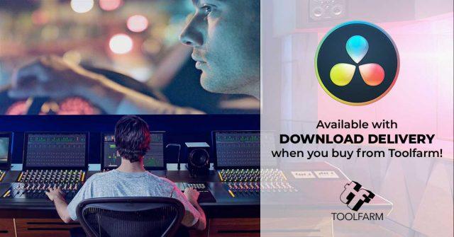 Get DaVinci Resolve Studio as a Download