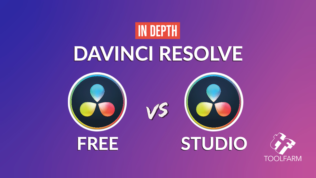 davinci resolve 15 studio vs free