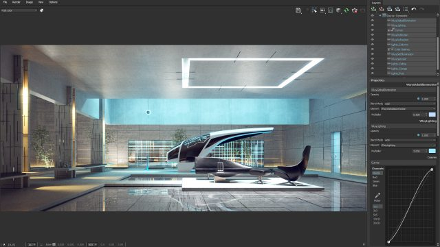 Layered Compositing in V-Ray 5 for 3ds Max