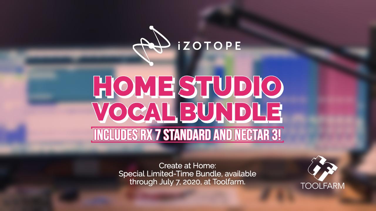izotope home studio vocal bundle