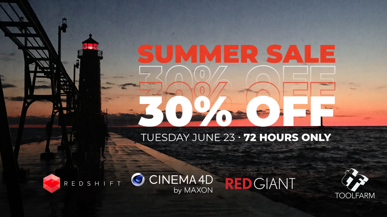 Maxon Red Giant Redshift Summer Sale