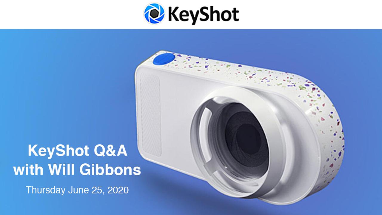keyshot q & a webinar