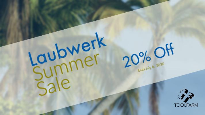 Laubwerk Summer Sale 20% off laubwerk