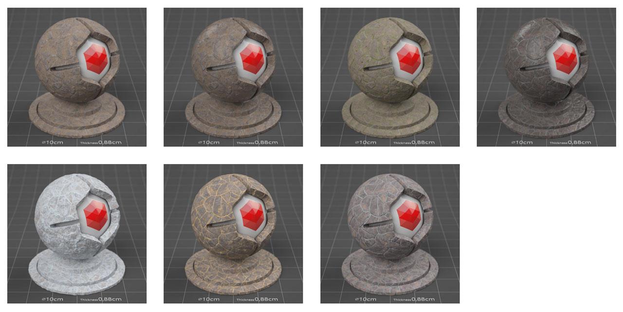 pixel lab mutating stones fieldstone